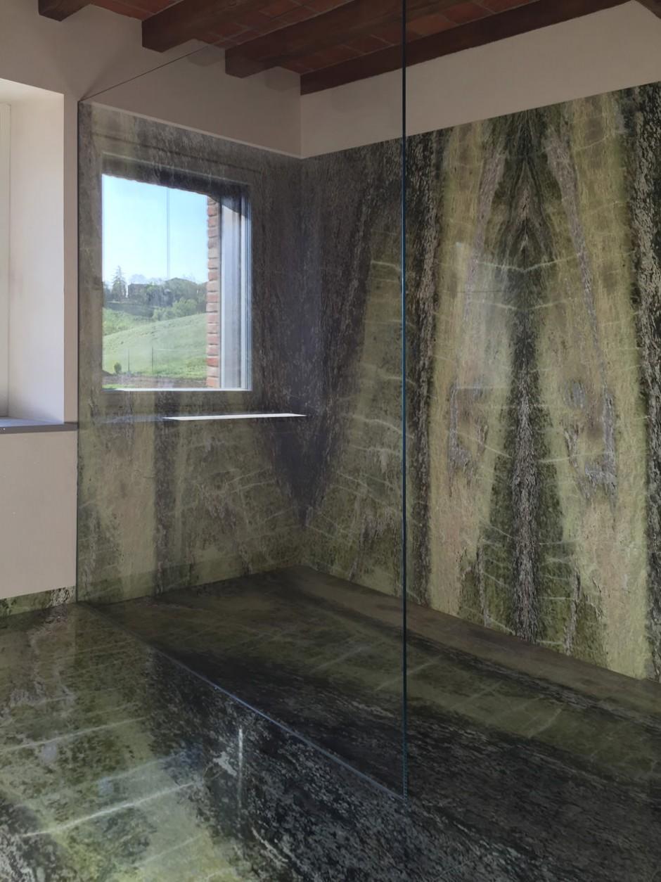 Bagno in irish green arch marmisti per - Piatto doccia per esterno ...